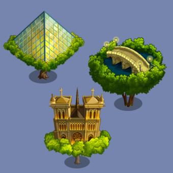 Farmville Fantasy Trees